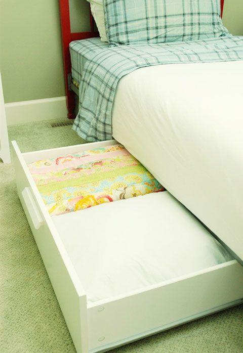 Ikea Pax Schrank Alleine Aufbauen ~ bed storage