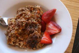 Will Work For Eskimo Kisses: Sweet Potato Oatmeal Breakfast Casserole