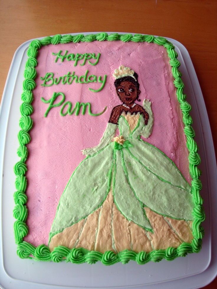 Princess Tiana Cake Pictures : Princess Tiana Cake Party Ideas Pinterest
