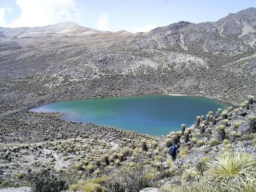 Hiking to El Páramo. Venezuelan Andes.