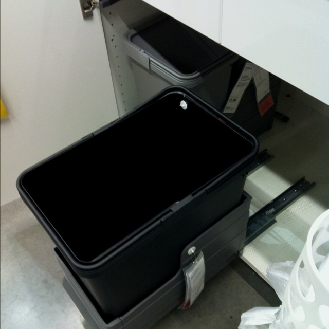 Need this trash can Ikea  Rationell  Housekeeping  Pinterest