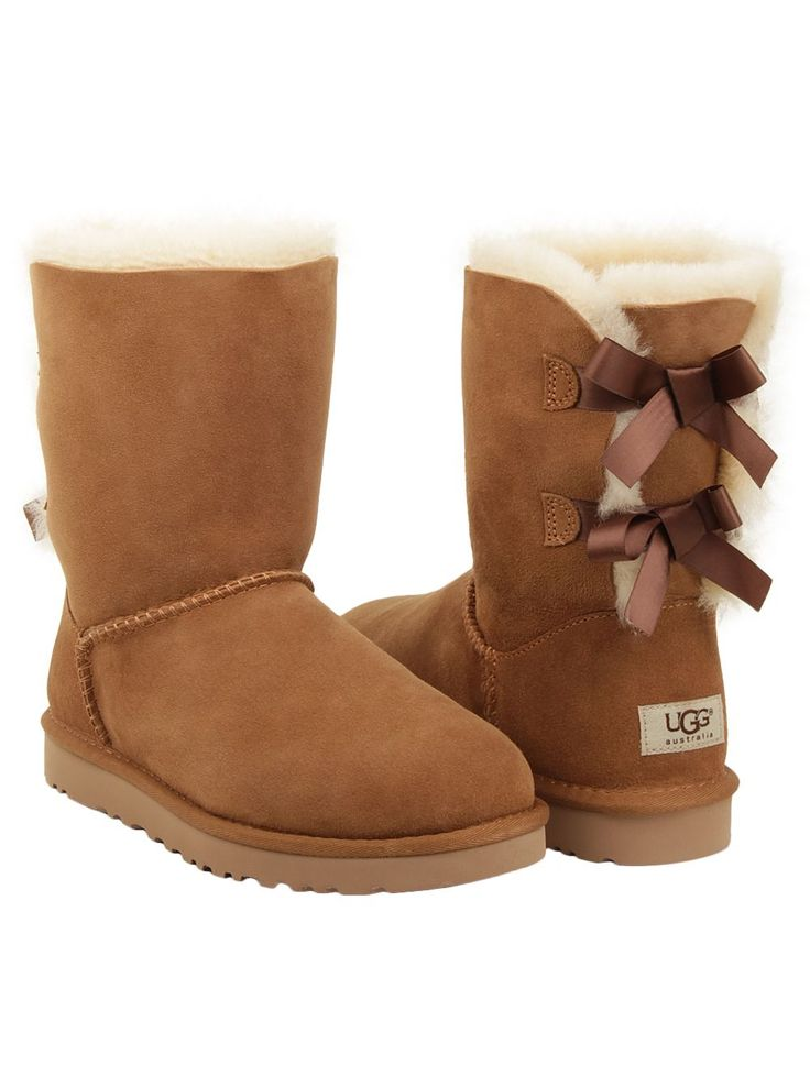 ugg australia women 39 s bailey bow boot in chestnut. Black Bedroom Furniture Sets. Home Design Ideas