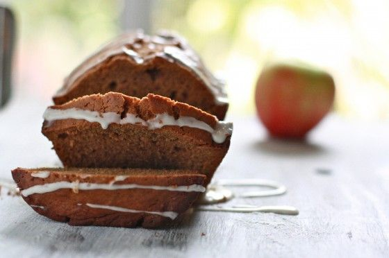 Apple Spice Bread with Apple Cider Glaze | Sweets | Pinterest