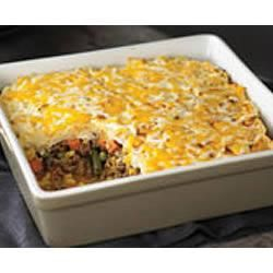 Shepherd's Pie is an Irish classic recipe. To go union, use Tyson's ground beef, brought to you by UFCW members.