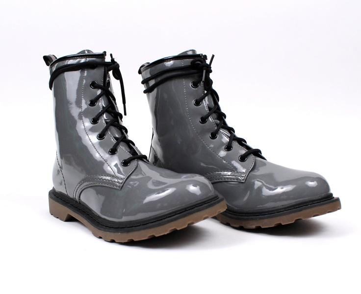 1990s vintage doc marten style ankle combat boots grunge