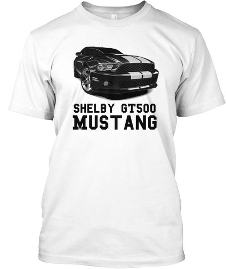 T Shirt Ford Mustang Shelby Gt500
