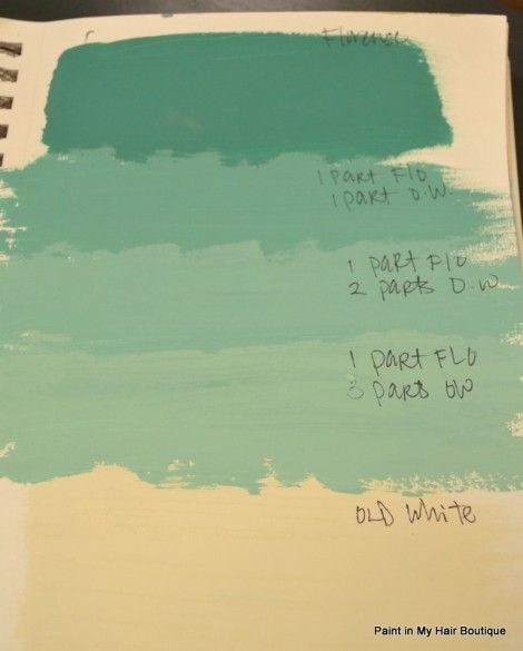 Recipe For Tiffany Blue Chalk Paint Annie Sloan Chalk