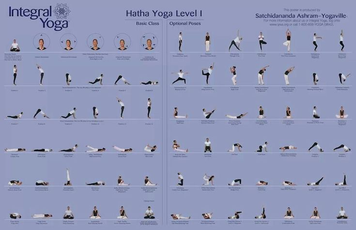 Hatha Yoga Poses Level 1
