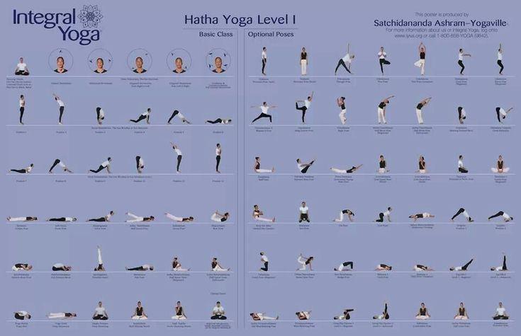 Hatha Yoga Poses Level 1