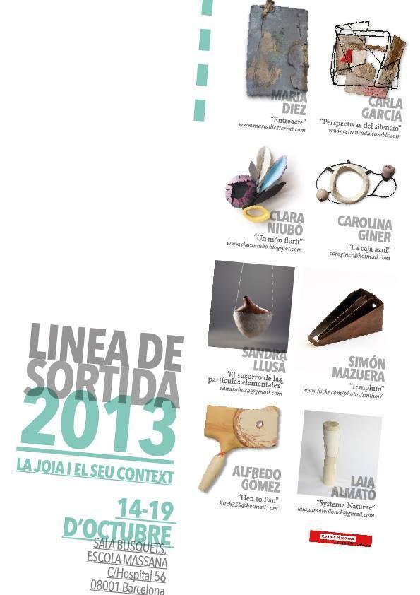 """OFF JOYA : Escola Massana presents """"Linea de Sortida 2013"""""""