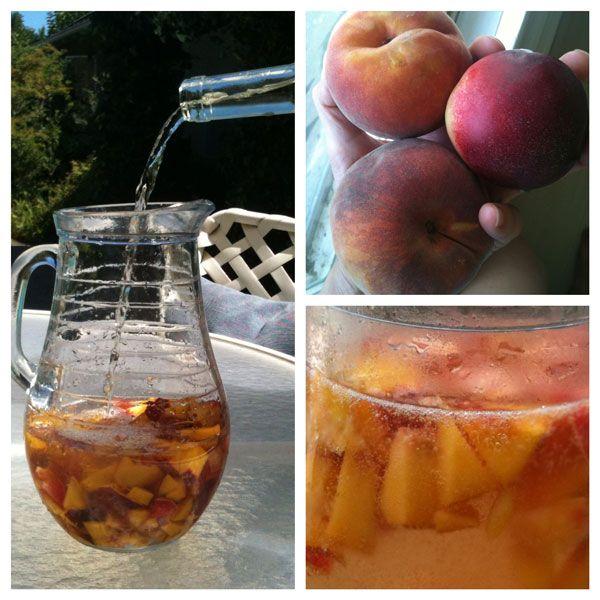 ... this: white peach sangria , peach sangria recipes and peach sangria