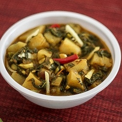 Aloo Palak - Spinach with potatoes | sip sip and nom nom | Pinterest