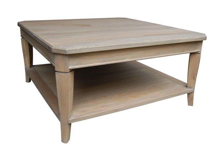 Table Basse Carrae : ... maisondunreve.com/salon/tables-basses/table-basse-carree-en-chene.html