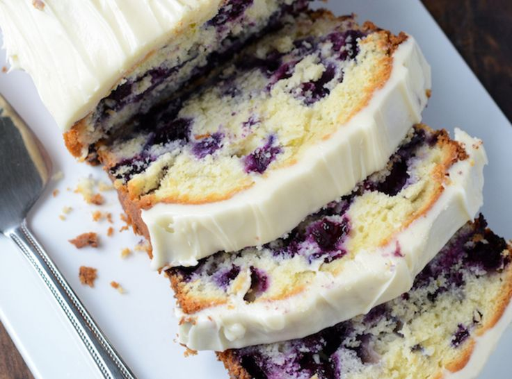 Blueberry Lime Cream Cheese Pound Cake | Foodz - Sweets ...