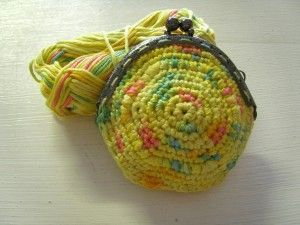 Coin Purse Crochet Free Pattern : coin purse