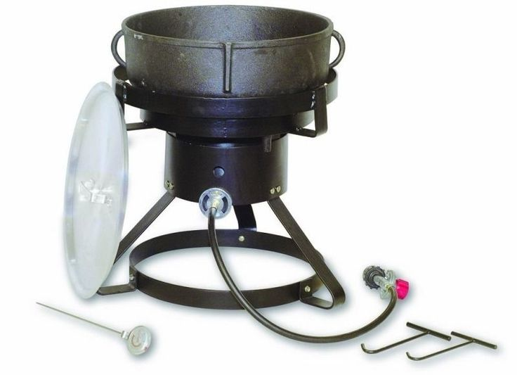Great fish fryer made to last cast iron pinterest for Fish cooker burner