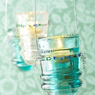A use for insulators salvage ideas pinterest for Glass insulators crafts
