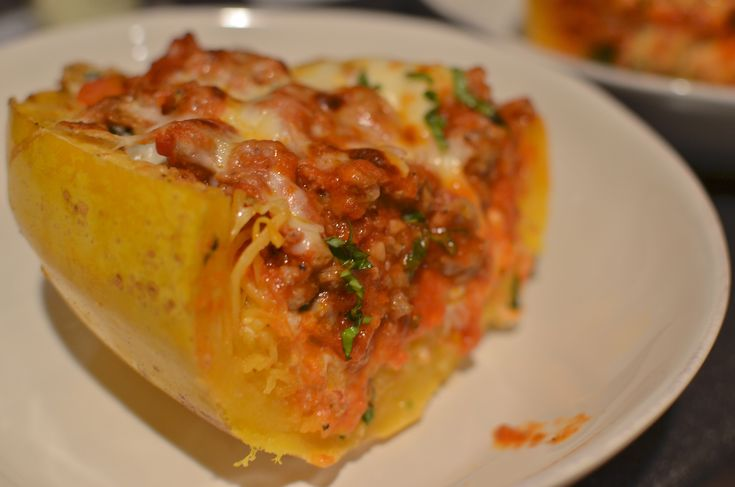 Spaghetti Squash - Lasagna | Recipes | Pinterest