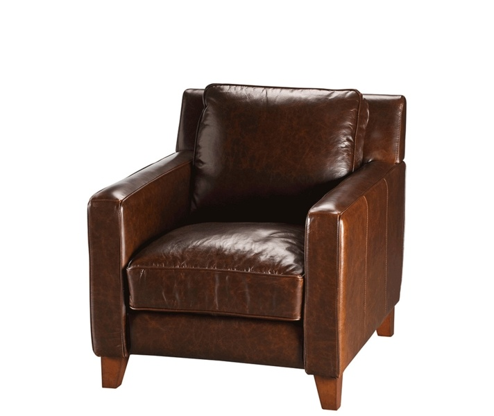 preston leather arm chair living room pinterest