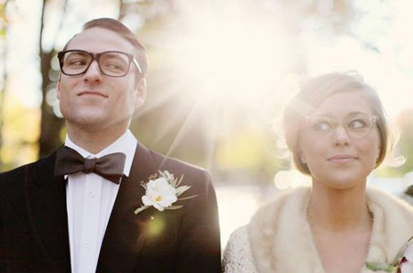 Wedding eyewear