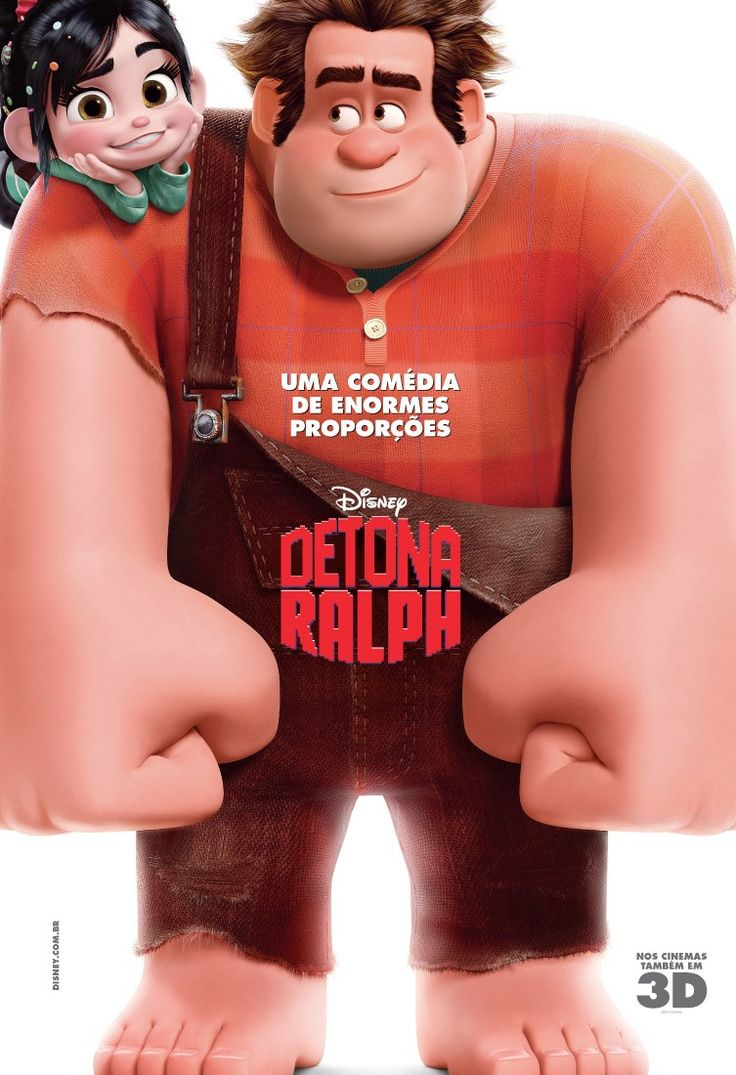 Disney's Wreck-It Ralph. Detona Ralph. International poster.