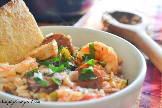 Shrimp, Sausage, and Chicken Jambalaya   It's What For Dinner!   Pint ...