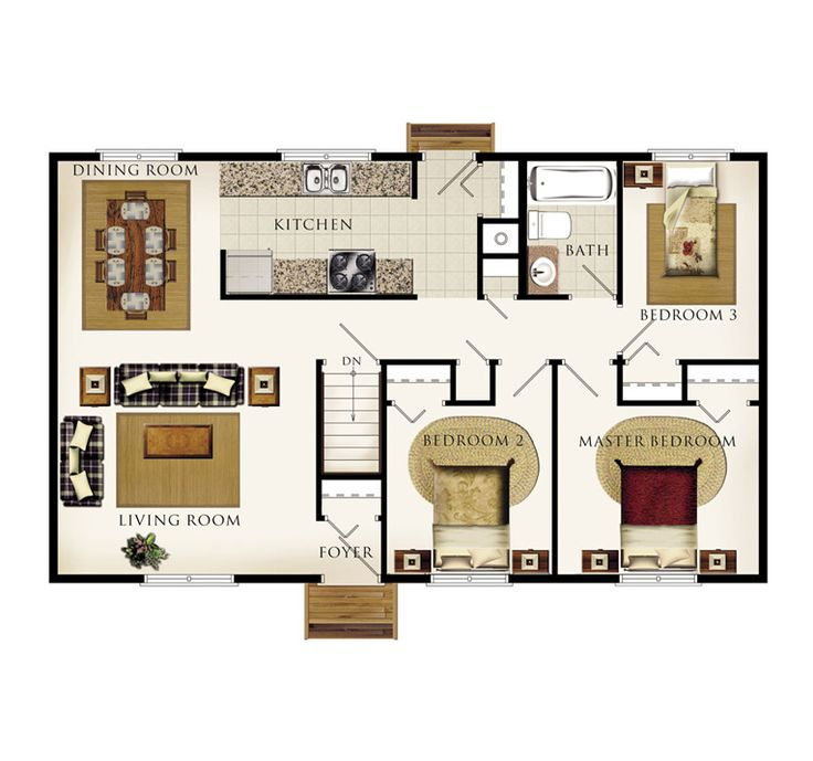 Beaver homes and cottages 40x24 house floor plans for Beaver home designs