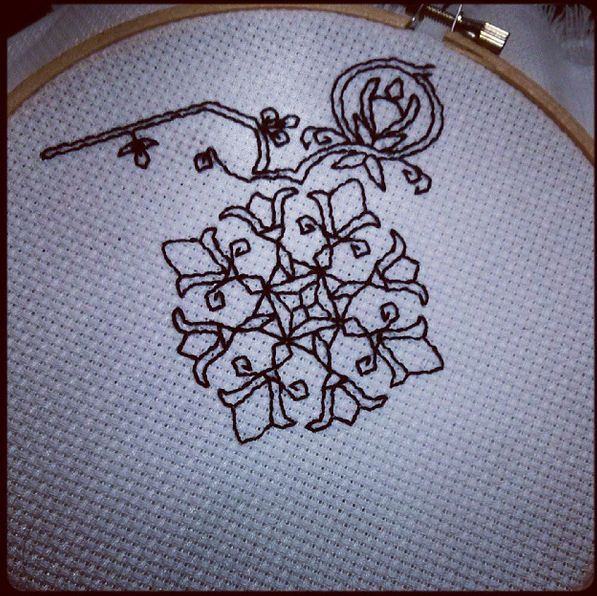 Pin by jacky eldred on embroidery blackwork pinterest