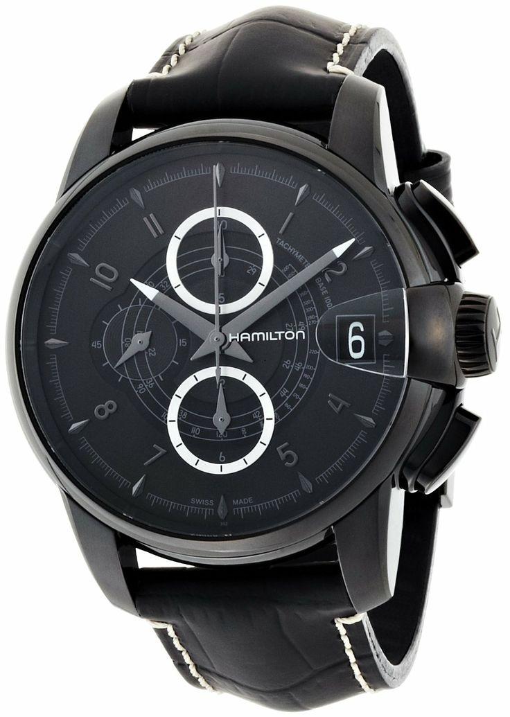 Hamilton Rail Road Chronograph Dial Watch