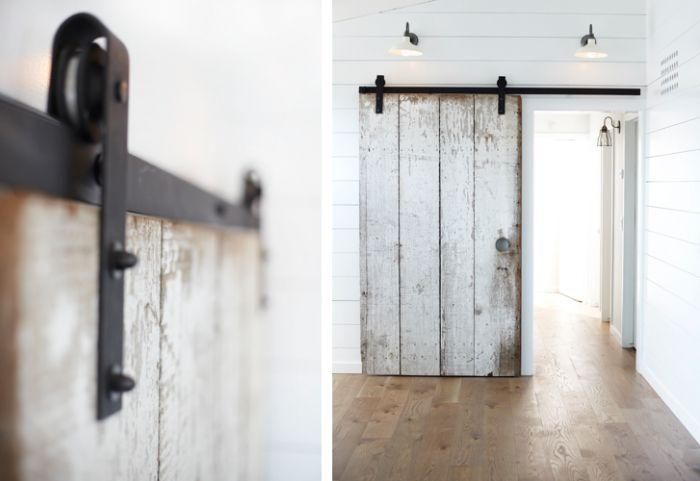 Interior Barn Rail Door Pinterest