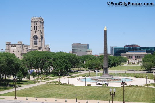 The American Legion Mall Places To Visit In And Around Indianapolis