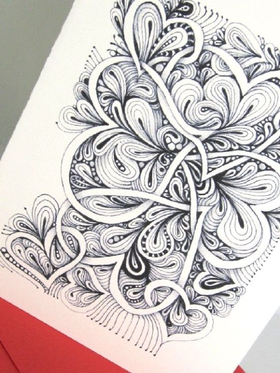 Pencil drawing ideas zentangles pinterest for Pencil sketch ideas