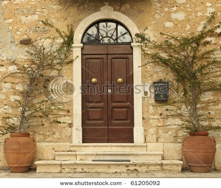 Lovely Tuscan Front Door Tuscan Style Homes Pinterest