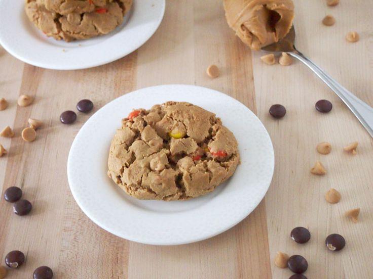 Flourless Triple Peanut Butter Cookies (gluten free)