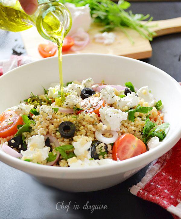 Mediterranean couscous salad | Food | Pinterest