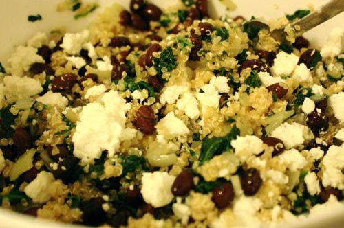 Quinoa spinach and onion casserole =) | Food | Pinterest
