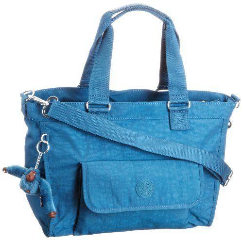 ... Kipling New Elise, Sac porté épaule - Bleu (Mitchell Blue) Kipling
