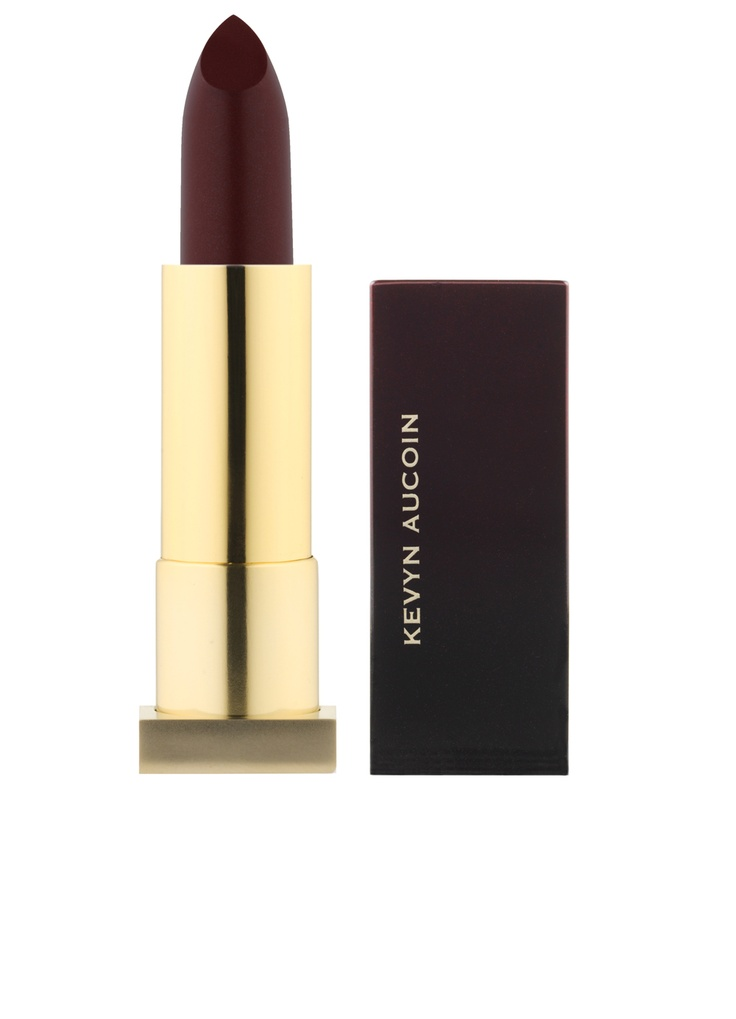 Go slightly deeper with the lip-of-the-moment: Oxblood. For this, we like Kevyn Aucoin Blood Roses (212 872 8890).