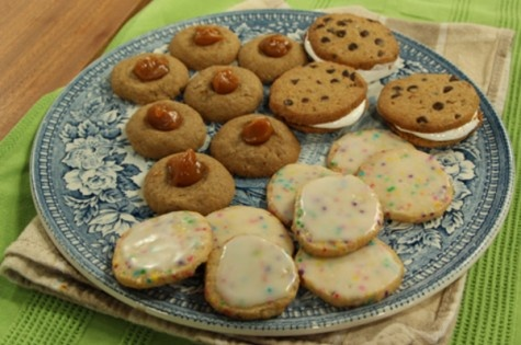 Vanilla icebox sugar cookies - cityline - to try :) (freeze in rolls ...