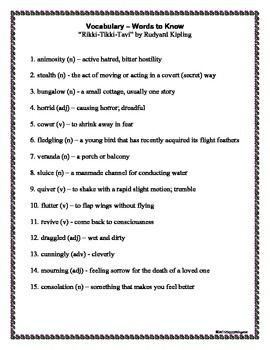 essay questions for rikki-tikki-tavi