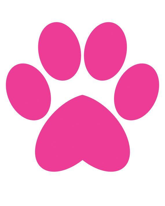 Chihuahua Polka Dots Paw Print Pink Dots 8x10 Three