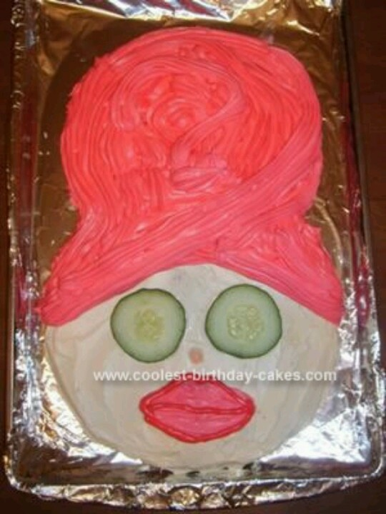 Spa Party Cake Images : Spa cake.kinda funny Cakes Pinterest