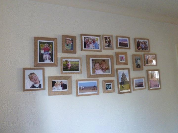 Photo Wall Living Room Pinterest