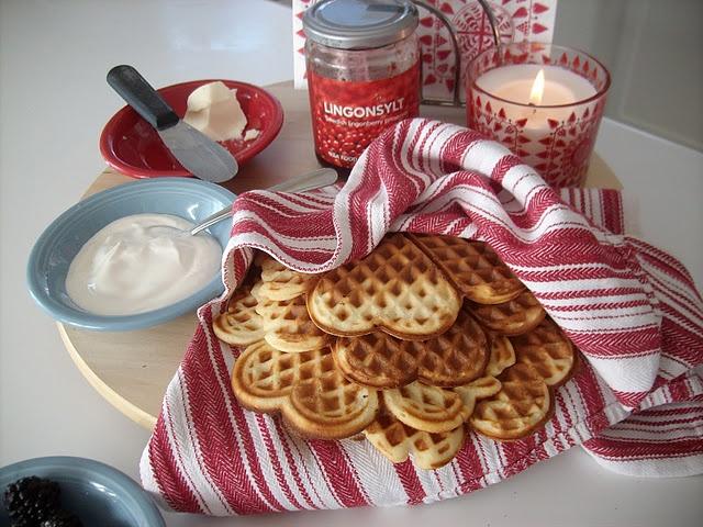 Norwegian waffles | gluttony. | Pinterest