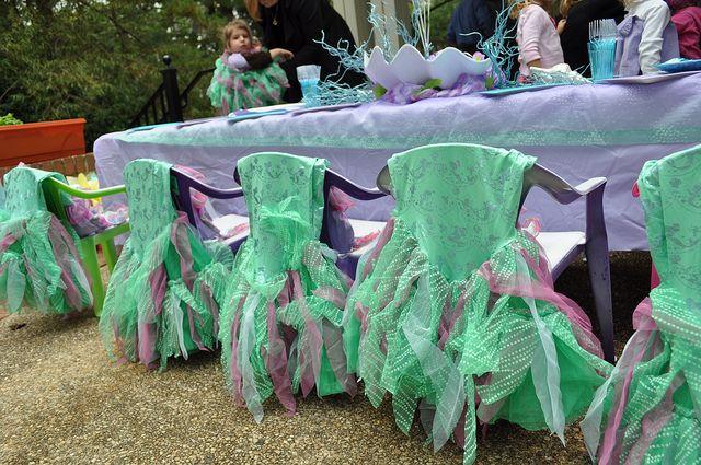 Mermaid Birthday Party  #