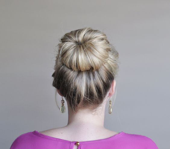 fashion show hairstyles : fancy buns