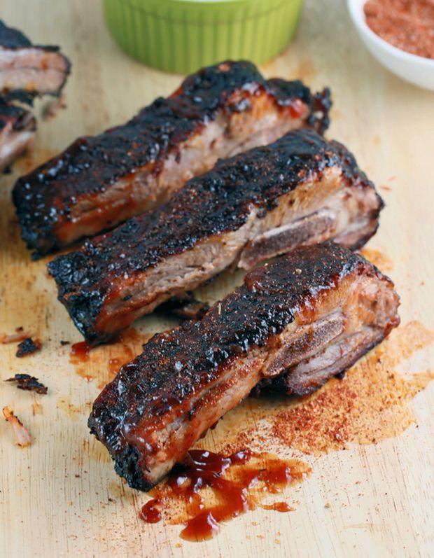 Memphis-Style Barbecue Pork Ribs Recipe - RecipeChart.com