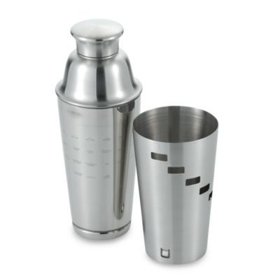 Dial-A-Drink Stainless Steel Cocktail Shaker - BedBathandBeyond.com