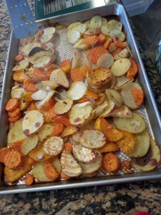 Oven roasted root vegetables | Food, ,my cooking and other's | Pinter ...
