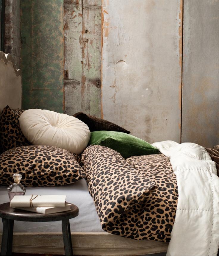 Animal Print Bed Covers Animal Print Home Decor Pinterest